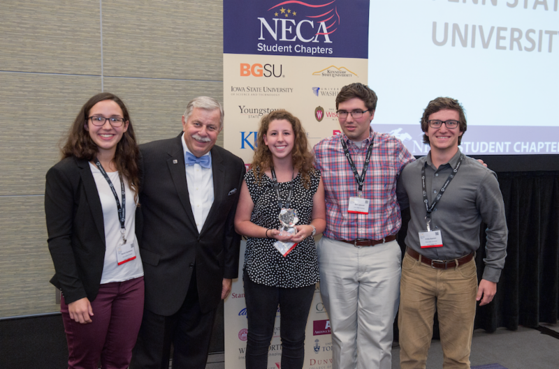 Penn State Neca Student Chapter Wins National Title Neca